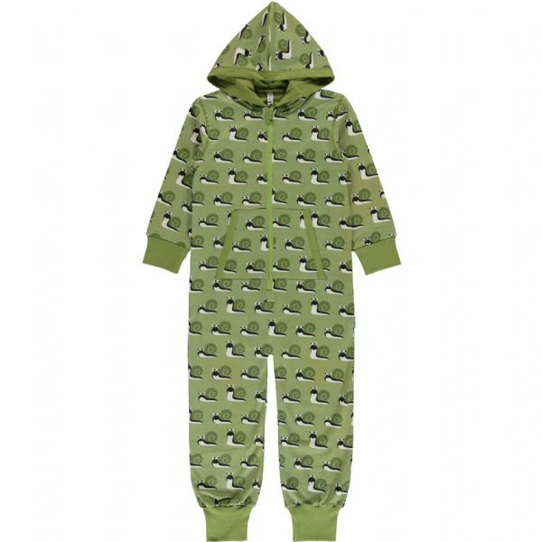 Maxomorra Hooded Onesie Snail